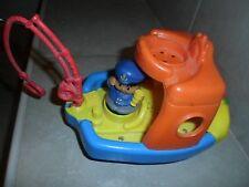 Fisher Price Little People Talking/Singing Fishing Tug Boat & Figure