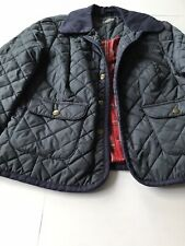 M&S Limited Collection Size 10 Womens Navy Quilted Jacket