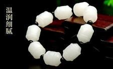 white jade bead bracelet Aa China fashion hand-knitted elasticity of natural