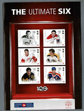 "2017 Canada Post, ""The Ultimate Six"", 32-Page Guide to Hockey Products..."
