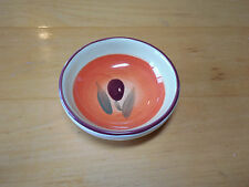 Main Ingredients Set of 4 Sauce Oil Cheese Bowls 3 in Orange Olive Purple
