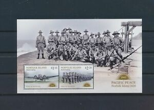 LO41010 Norfolk Island pacific peace military good sheet MNH