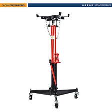 "Pedestal Transmission Jack Hydraulic 1100 lb Cap 51"" to 71"" Lift Range/Wide Base"