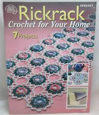 Rick Rack crochet For Your Home pattern rick rack flowers trims