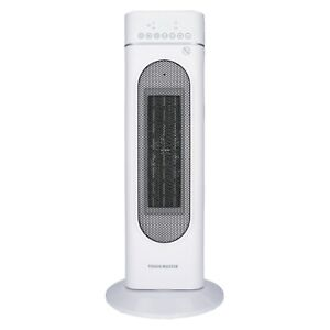 Tough Master Fan Heater 2000W Electric Ceramic Portable Tower - Timer & Remote