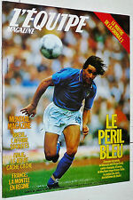 EQUIPE MAGAZINE 288 FOOTBALL MEXICO 86 FRANCE ITALIE BRESIL TENNIS  F1 MAHMOUD