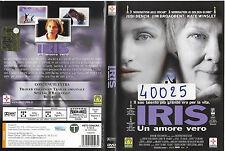 IRIS - UN AMORE VERO (2001) dvd ex noleggio