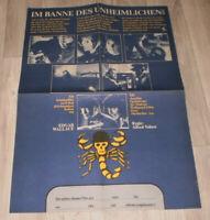 Filmplakat DDR ,Progress  IM BANNE DES UNHEIMLICHEN,EDGAR WALLACE,J Fuchsberger