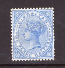 GIBRALTAR VICTORIA SG42 2.1/2 Bright ultramarine lightly hinged.