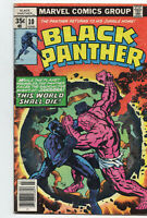 Black Panther 10 Marvel 1978 VG Jack Kirby