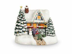 NEW Thomas KINKADE 2020 Christmas Collectible TELEFLORA Keepsake Hero's Welcome