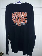 Auburn University Tigers NCAA AU logo Long Sleeve T-Shirt Athletics fan gear XL