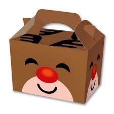 10 Reindeer Food Boxes - Christmas Gift Party Kids Cupcake Xmas Wrapping Bag
