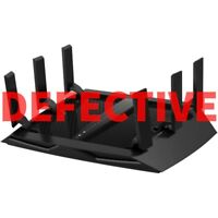 DEFECTIVE NETGEAR Nighthawk X6 AC3200 Tri-Band Gigabit WiFi Router (R8000)