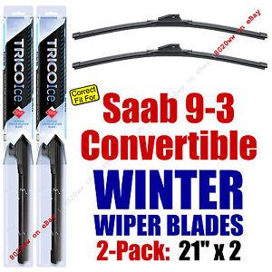 WINTER Wipers 2-Pack Premium Grade - fit 2003 Saab 9-3 - 35210x2