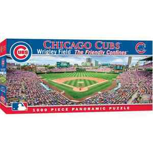 Chicago Cubs 1000 Piece Panoramic Puzzle, MasterPieces Licensed Jigsaw