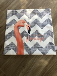 "Decorative Flamingo Cushion Cover BN 45x45cm (18x18"")"