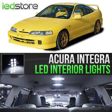 1994-2001 Acura Integra White Interior LED Lights Kit Package