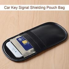 Auto Signal Shielding Bag Blocker Jammer Pouch Case for Car Key Cell Phone