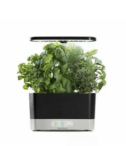 AeroGarden Harvest, Black with Gourmet Herbs Seed Kit, New In The Box