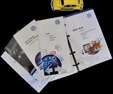 2001 VW Golf Owner's Manual Set #O726