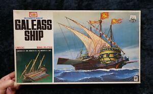 SAILING SHIP GALEASS SHIP 1/160  VINTAGE MODEL KIT IMAI