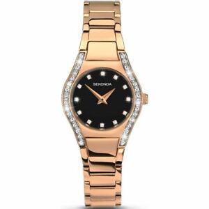 Sekonda Women's Quartz Watch with Analogue Display and Bracelet 2200