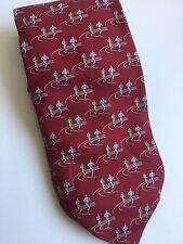 Tie Rack Novelty Silk Neck Tie - Runners 🌿