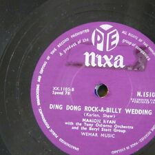 78rpm MARION RYAN ding dong rock-a-billy wedding / that`s happiness