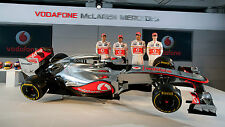 VODAFONE McLAREN MERCEDES FORMULA 1 2012 TEAM LAUNCH POSTER