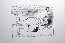 Pablo Picasso original lithograph 76767676