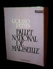 1980 Pantages Theatre Program~Roland Petit's BALLET NATIONAL DE MARSEILLE