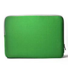 """GREEN Zipper Sleeve Bag Case Cover for All Laptop 13"""" Macbook / Pro / Air"""