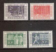 Nederland    Nummer  588/591   Postfris.