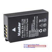 Kastar Replacement Battery for Original Nikon EN-EL20 EN-EL20a & OEM Nikon MH-27