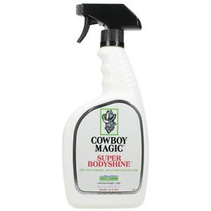 Super Bodyshine Horse Hair Detangler Cowboy Magic 32oz