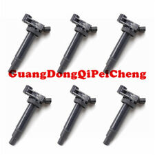 6PCS Ignition Coils For Toyota Lexus ES300 RX300 RX400h 673-1301 3.0L 3.3L