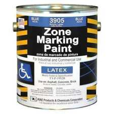 New listing Rae 3905-01 Traffic Zone Marking Paint, 1 Gal., Handicap Blue