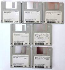 "IBM floppy disk 3,5"" sistema operativo OS/2 2.1 v. 2.11 incompleto con MPM 1.1.2"