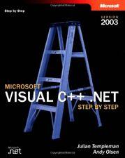Microsoft Visual C++ .Net Step By Step: Version 2003,Julian Templeman,Andy Olse