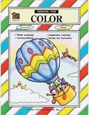 Color Thematic Unit 1993, Paperback, Teacher resource primary grades K-2