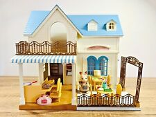 Sylvanian Families Courtyard Restaurant Tables Chairs Freya Chocolate Rabbit