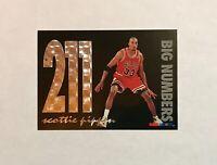 1994-95 Hoops Scottie Pippen Big Numbers 211 Insert #BN9