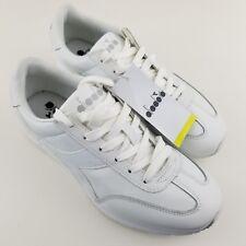 Diadora Women's 8.5 Men's 6.5 Shoe Damen Sneaker Speed White Leather NEW