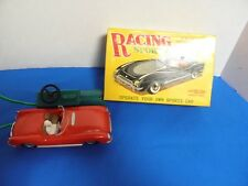 """Rare 1950""""S Empire Toys Clifford Series Racing Sports Car Battery Operated"""