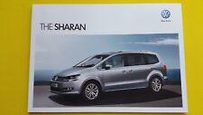 VOLKSWAGEN SHARAN S sel se Executive brochure catalogue novembre 2012 Comme neuf VW