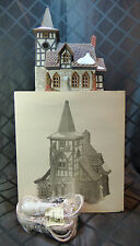 """House - Dept '56 in box, Dickens' Village, """"Old Michael Church"""""""