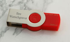 32GB USB-STICK 2.0 / 3.0 Kingston DataTraveler 101 G3  - mit WUNSCHGRAVUR
