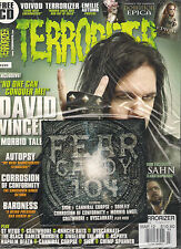TERRORIZER UK #220 March 2012 DAVID VINCENT Autopsy EMILIE AUTUMN POSTER + CD SS