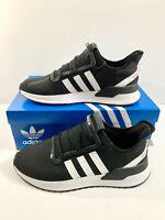 New! Adidas Original Men's U_Path Run Black/White Sneakers Size 10.5 Shoes
